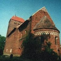 Brandenburgia  Redekin kościół wiejski