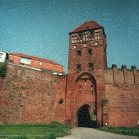 Brandenburgia Tangermünde mury miejskie
