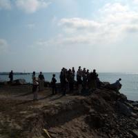 Objazd po Rugii - klif w Mukran