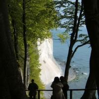 Objazd po Rugii - wapienny klif w Stubbenkammer