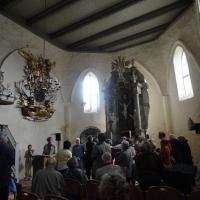 Marek Ober referuje dzieje kościoła w  Holzendorf