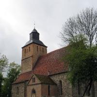 1 Schonermark-kościoł kościół z granitowych kwader z 2 poł. XIII w.