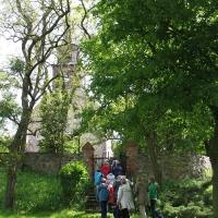 1 Wollin kościół ewagelicki - wieża zachodnia