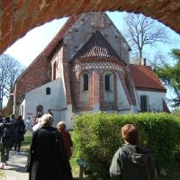 Objazd po Rugii - kościół w Altenkirchen