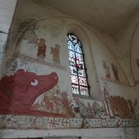 Malowidła w kościele w Behrenhoff