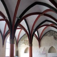 13 Prenzlau Klasztor dominikanów -sala trzech kolumn