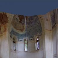 14 Battinsthal -wewnętrzna panorama kaplicy