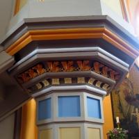 14 Penkun Kościoł neogotycki - piękna kolumna i kapitel
