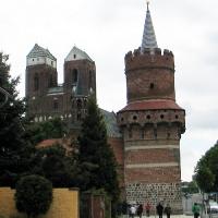 1 Prenzlau -Kościół Mariacki i Wieża Srodkowa
