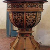 3 Dedelow -Chrzcielnica z 1690 roku