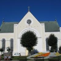 Czaplinek kosciół arch. Carl Friedrich Schinkel