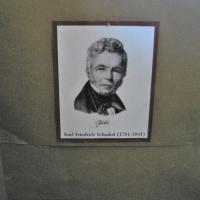 Czaplinek Muzeum staroci portret Carl FriedrichSchinkel