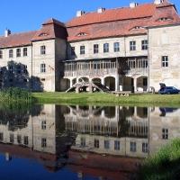 Siemczyno -symetria krajobrazowa- wiejska pałacowa