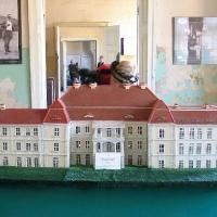 Siemczyno makieta pałacu
